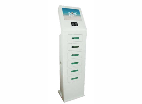 15.6 Inch Touch Screen Mobile Charging Kiosk